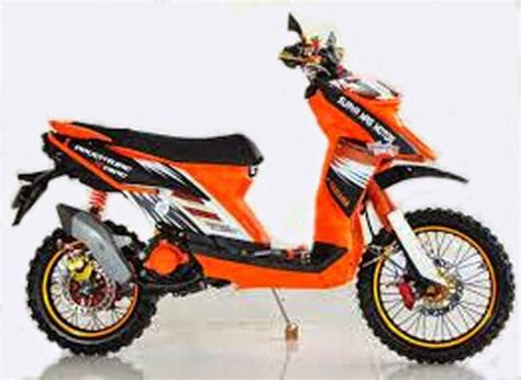 Harga Suling Merk Yamaha modifikasi trail motor yamaha matic x ride terbaru 2016