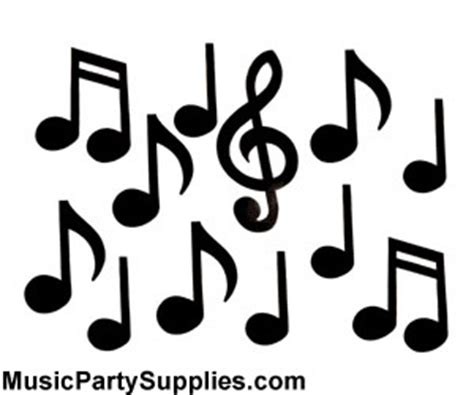 Kitchen Tea Decoration Ideas by Music Gifts Notes Large Music Notes Decorations
