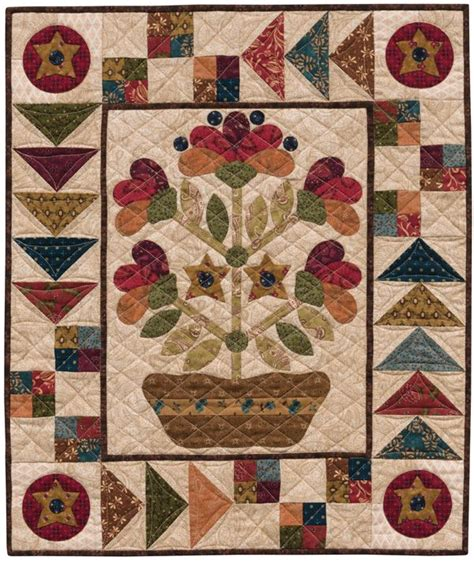 Patchwork Applique Patterns - 400 best folk quilts images on quilt