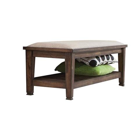 oak bedroom bench coaster bedroom bench in burnished oak 200977