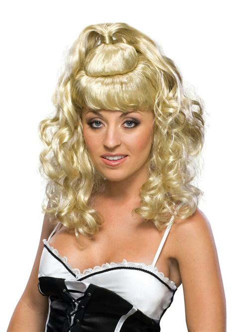 patial updo wigs blonde curly partial up do spicy girl wig ebay