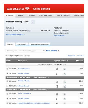 Where Can I Cash My Check Without A Bank Account by Online Bank Account Management With Bank Of America