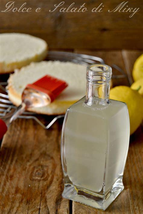 bagna al limone per torte bagna al limone per torte ideale per bagnare dolci da farcire