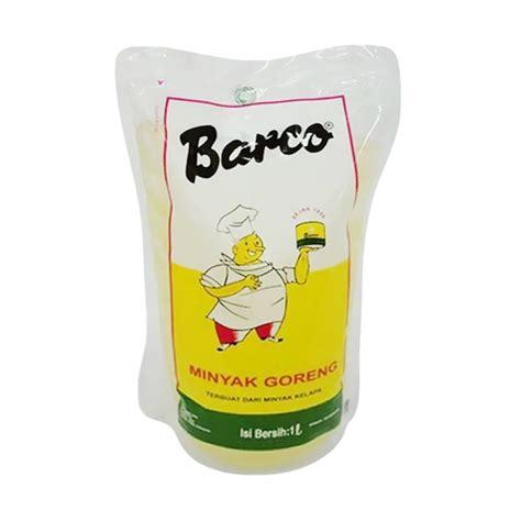 Minyak Goreng Brand Cup jual barco minyak goreng pouch 1000 ml harga
