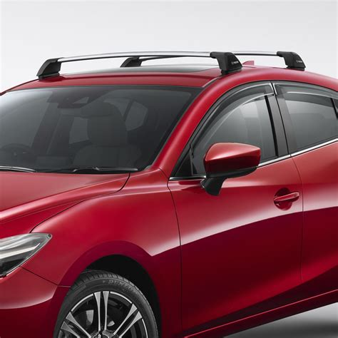 2013 mazda 3 hatchback roof rack mazda accessories personalise your mazda3