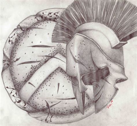shield tattoo designs spartan helmet and shield designs pictures to pin