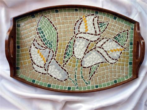 mosaic lily pattern pin by phylianonetsy on etsy pinterest
