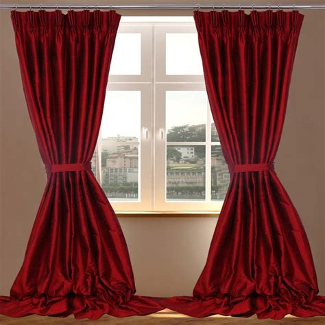 red satin curtains there is nothing better than silk curtains home and textiles