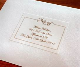 address labels to match your wedding invitations letterpress wedding invitation