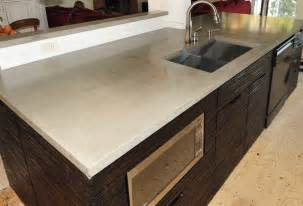 Cement Kitchen Countertops Mode Concrete Ultra Chic And Modern Concrete Kitchen Countertops Made In The Okanagan