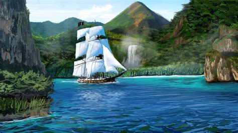 schip pirates of the caribbean caribbean pirate ship by seniorj on deviantart