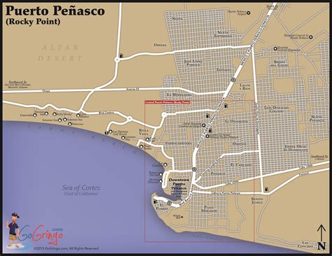 penasco map penasco mexico map