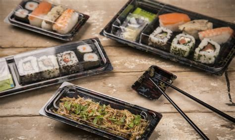 Tray Sushi Import Hp 01 linpac helps to develop novel sushi packs for mercadona