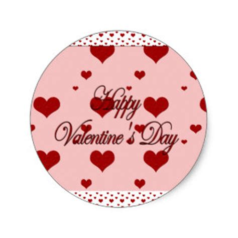 valentines day stickers happy valentines day stickers zazzle co uk