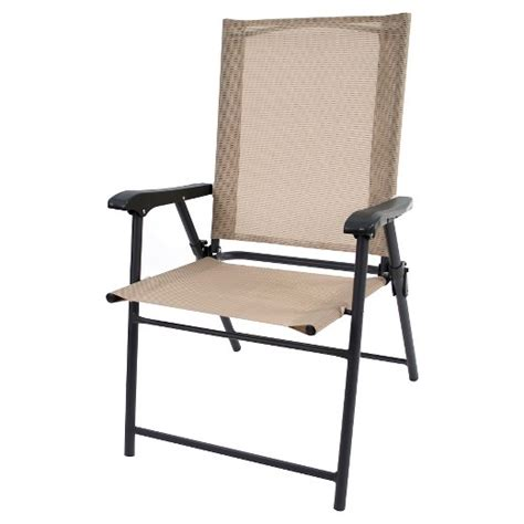 Folding Patio Chair Sling Folding Patio Chair Threshold Target