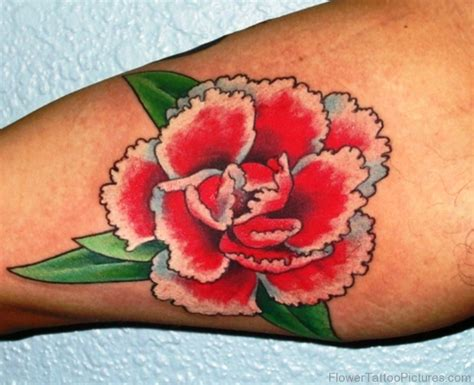 pink carnation tattoo design 46 attractive carnation flower tattoos