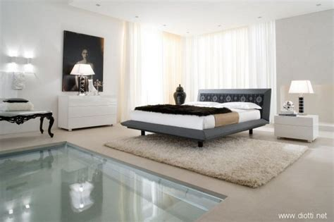 modern bedroom suits bedroom sweet spacious bedroom suites with acca cover diotti white shag rug pool