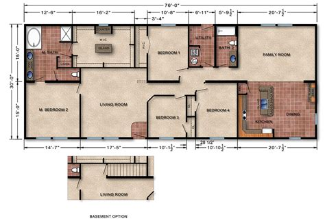 floor plan manufactured homes changed modular homes