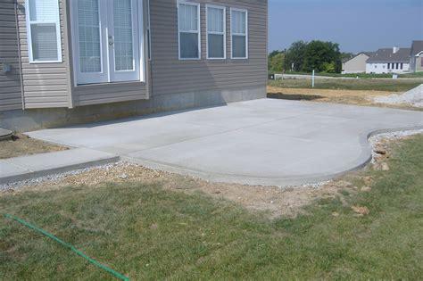 Cement Patio Ideas by My Garden Patio Patio Enthusiast