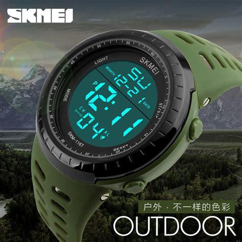 Mc O6 Jam Tangan Pria Skmei Sport 1167 Casio Skmei Sunnto Skmei Or skmei jam tangan digital pria 1167 army green jakartanotebook