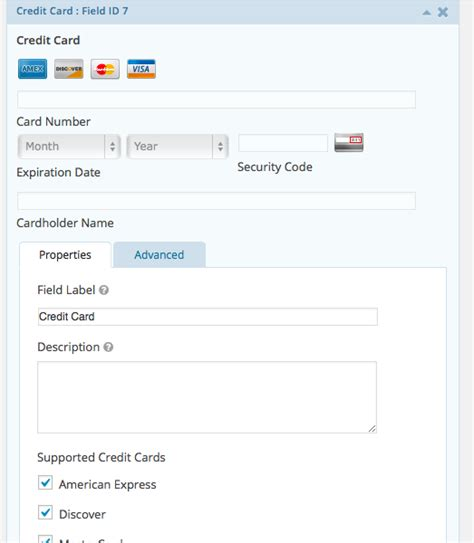 Gravity Forms Credit Card Field how you can use for event registration