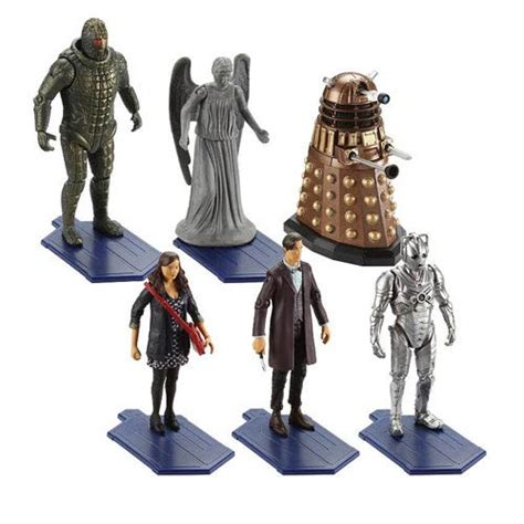 4 inch figure doctor who 3 3 4 inch figure wave 1 set