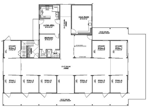 large horse barn floor plans large barn floor plans 28 images barn floor plan at