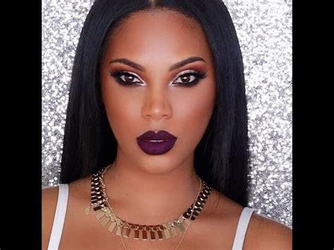 eyeliner tutorial black girl vy makeup tutorial youtube