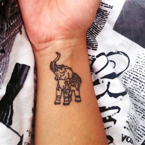 elephant tattoo on wrist 85 tiny elephant designs