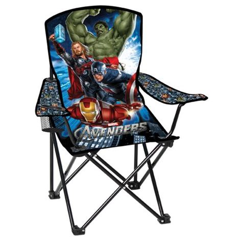 Avengers Chair by Academy Marvel Kids Avengers Camp Chair