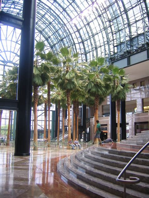 panoramio photo of winter garden atrium world financial