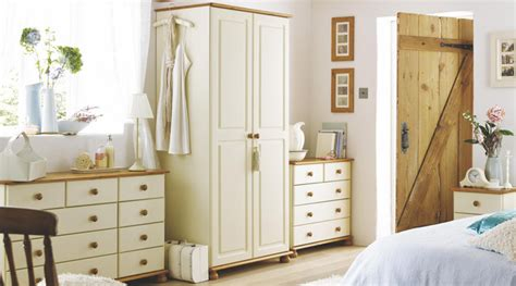 B Q Bedrooms by Oslo Solid Pine Free Standing Bedroom Furniture