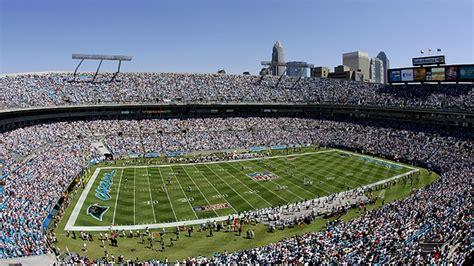 carolina panthers seating capacity bank of america stadium
