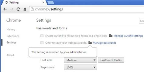Chrome Themes Blocked By Administrator | google chrome this setting is enforced by your