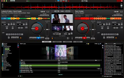 console dj virtuale dj 7 4 adds cloud karaoke services