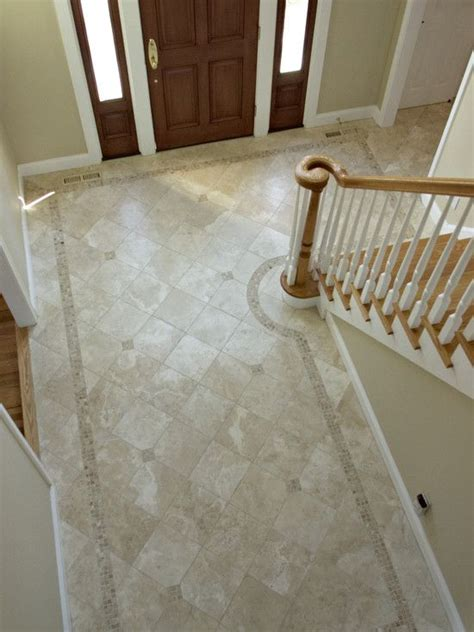foyer flooring ideas amazing foyer tile floor designs 14 amusing foyer tile