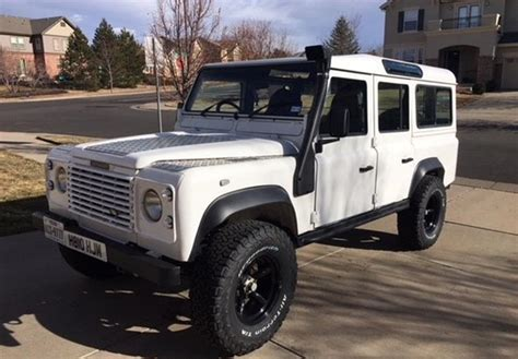 land rover jeep defender for sale land rover defender for sale carsforsale com