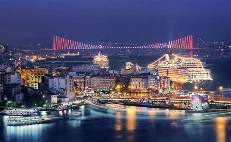 istanbul gece manzaras istanbul u b 252 y 252 leyici bir şehir yapan 10 214 zelliği