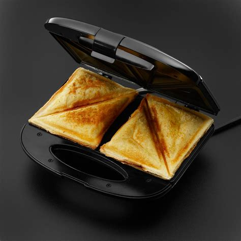 Sandwich Toaster toasted sandwich maker hobbs 17936 toaster two portions stainless steel ebay