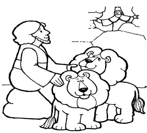coloring page daniel in lions den 145 best images about daniel and the lions den on