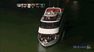 mccovey cove boat party fans dance the night away on party boat in mccovey cove