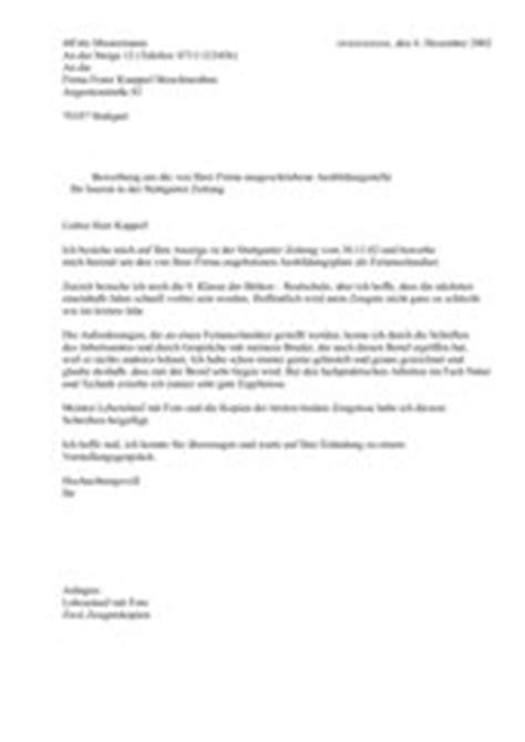 Bewerbungsschreiben Praktikum Hauswirtschaft Bewerbungsschreiben Muster Bewerbungsschreiben Unterrichtsmaterial