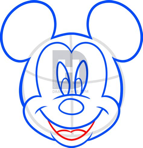 Mickey Top Mininos how to draw mickey mouse for step by step drawing