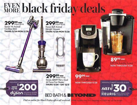 bed bath and beyond black friday deals black friday 2016 bed bath and beyond ad scan buyvia