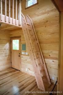 Cabin Floor Plans Loft diy ships ladder nelson treehouse