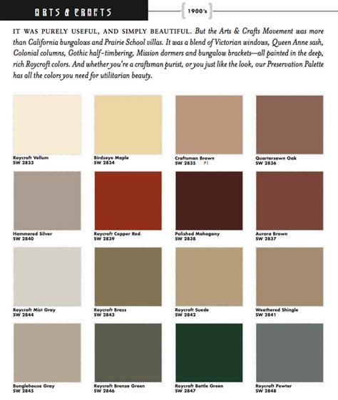1000 images about historic paint colors palletes on paint colours craftsman and