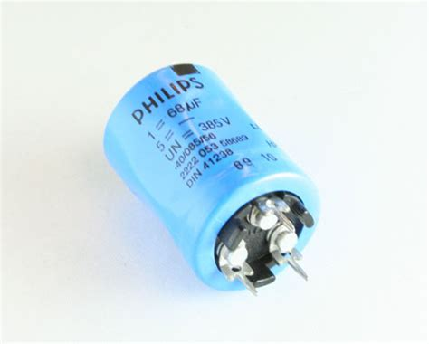 philips fan capacitor 2222 053 58689 philips capacitor 68uf 385v aluminum electrolytic snap in 2020031671