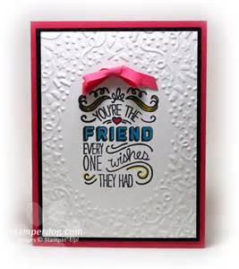 birthday card for a best friend stin up demonstrator m clemmer ster card ideas
