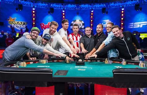 2014 wsop event the table is set players from