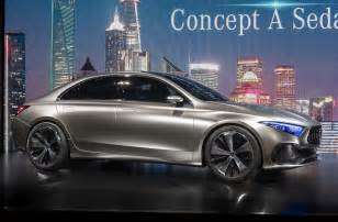Mercedes A Class Sedan Mercedes A Class Sedan Previewed By Concept In Shanghai